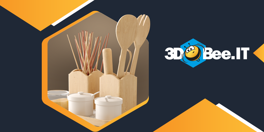 The 3DBee.IT asset digest: assets for kitchens