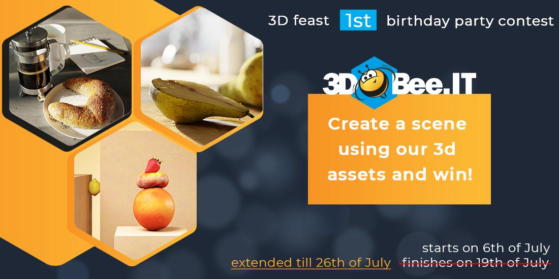 The 3D tasty challenge