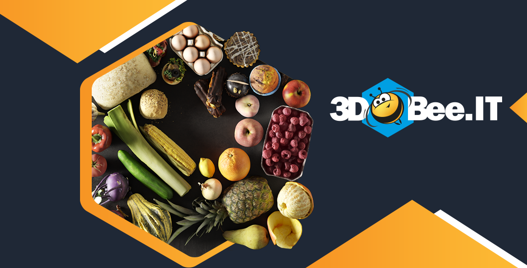 3DBee.IT: Asset Roundup July – Food Scans